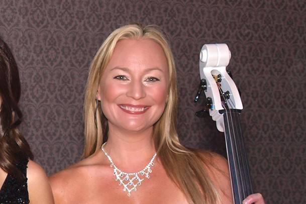 Rachael Brown of Bella Electric Strings, seen in 2013. (Las Vegas Review-Journal)