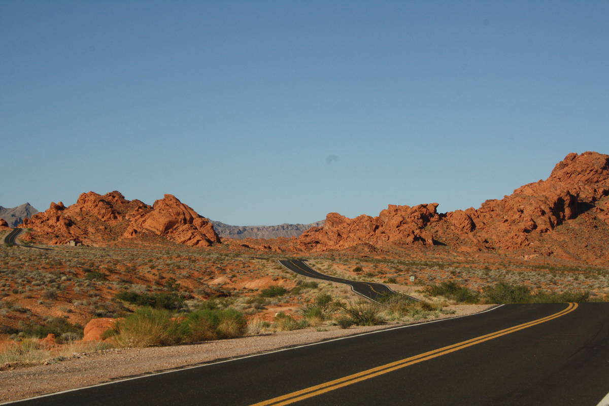 Valley of Fire State Park was established in 1935 to protect the scenic, geologic, and archaeol ...