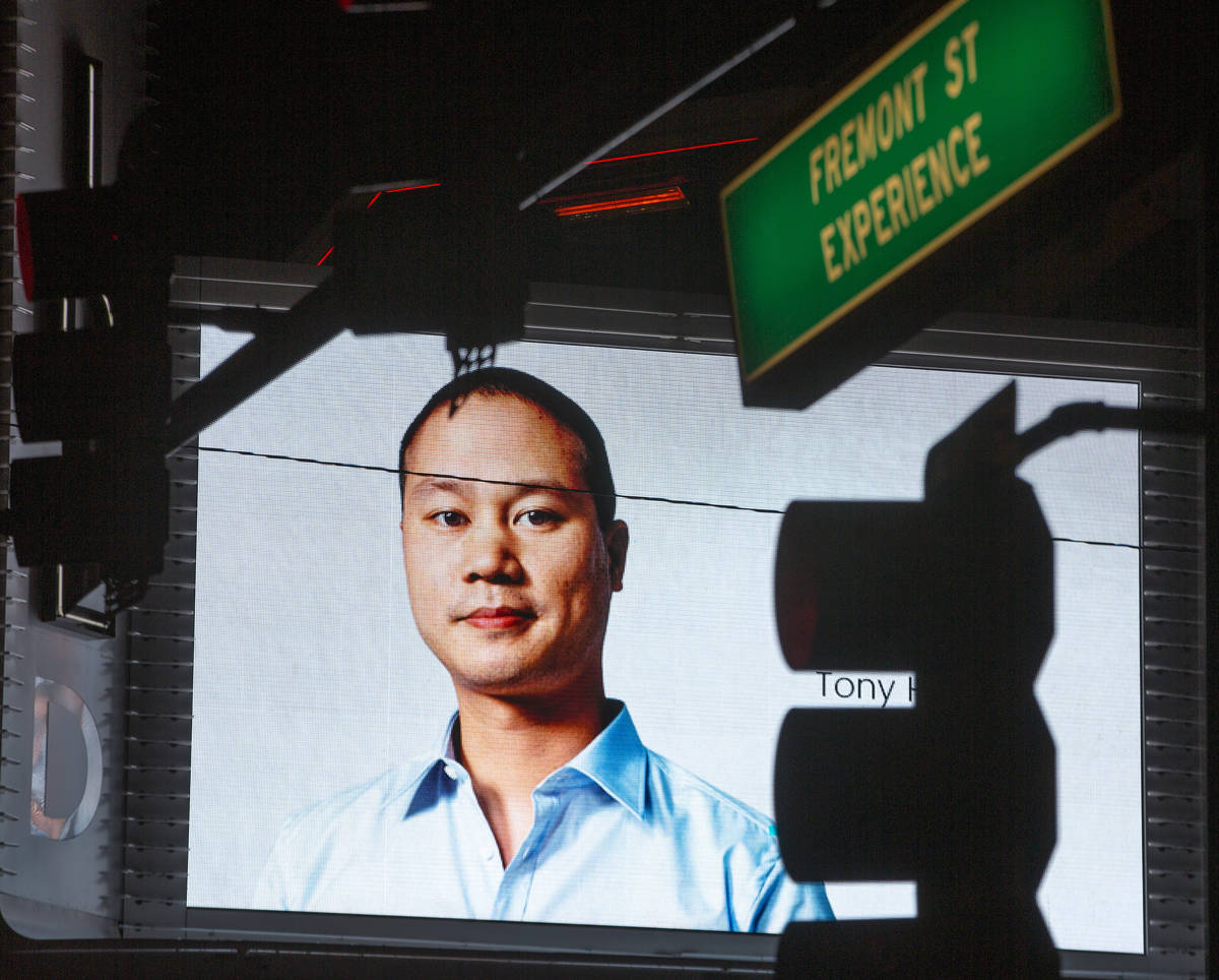Tributes to former Zappos CEO and Downtown Project founder Tony Hsieh, who died Friday, are see ...