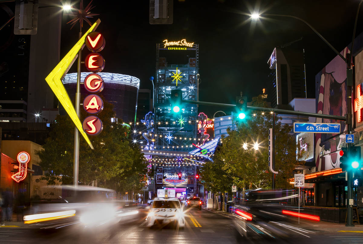 About Fremont Street downtown 6th Street may possibly be renamed in honor of Tony Hsieh on Tues ...