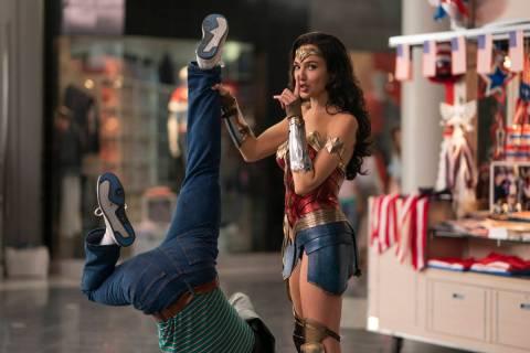 "Gal Gadot stars as Diana Prince in ""Wonder Woman 1984."" (Clay Enos/Warner Bros. Entertainment Inc.)"