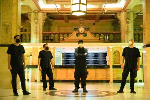 """The """"Ghost Adventures"""" team gears up for an investigation inside Los Angeles' Cecil Hotel. Le ..."""