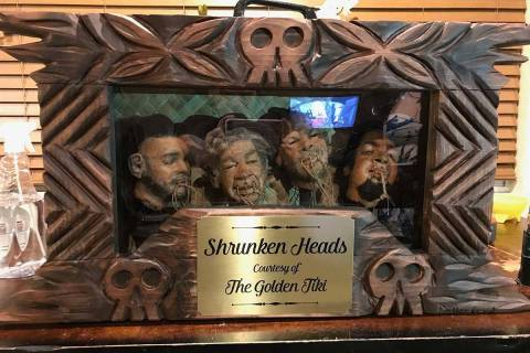 """A case created by Vegas wood-carving artist """"Billy The Crud"""" is shown with the """"Pawn Stars"""" shr ..."""