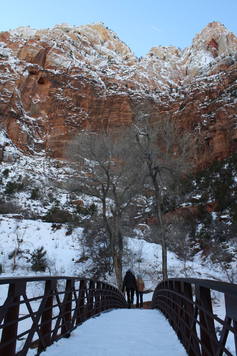 Outdoor excursions in winter can be very enjoyable as long as you are prepared. (Deborah Wall L ...