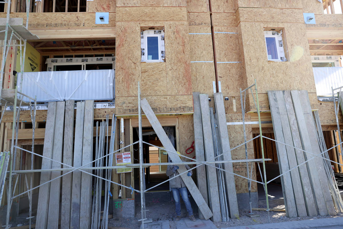 Panorama housing development by Touchstone Living under construction on North Hualapai Way near ...