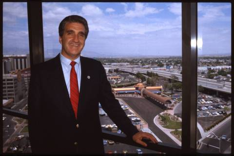 Portrait of Las Vegas mayoral candidate Ron Lurie in 1987. (Las Vegas Review-Journal file photo)