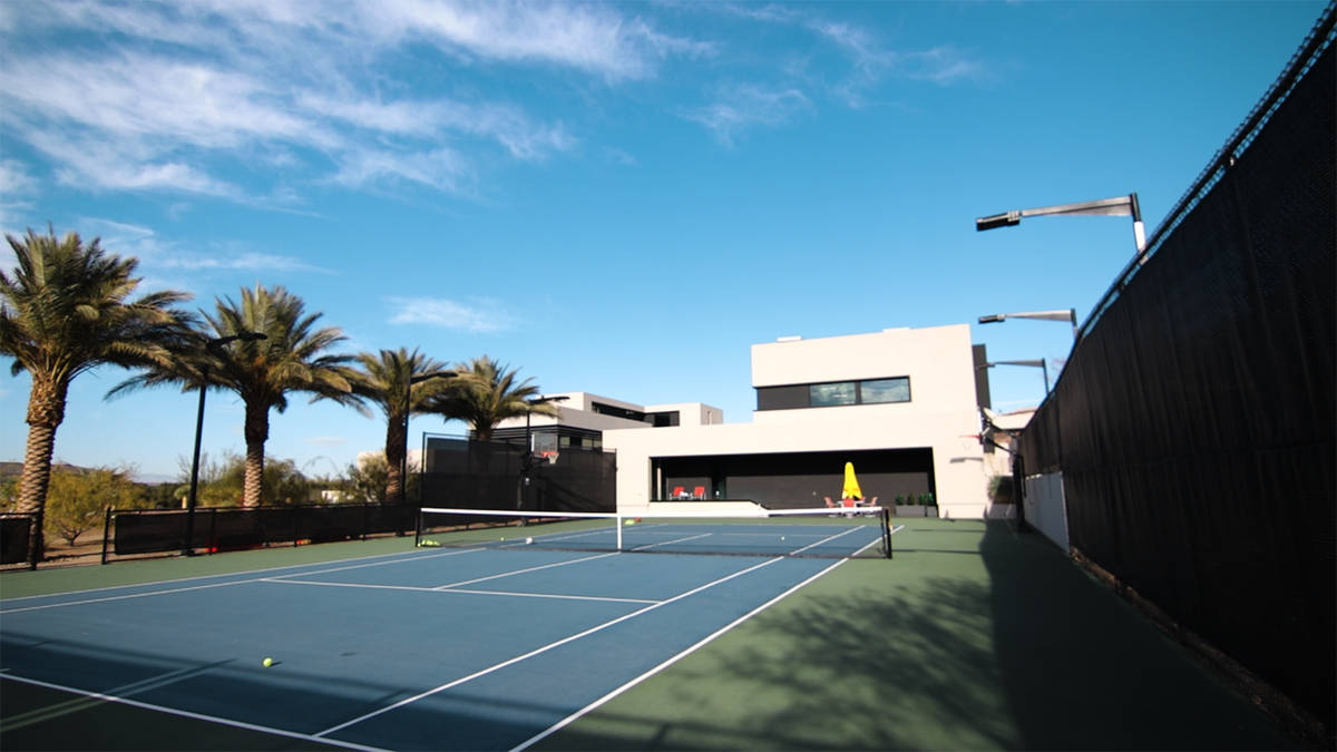 The tennis courts. (Forever Home Realty)