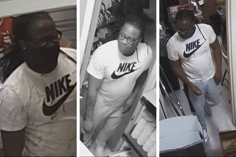 Police are seeking information on this man in connection to a series of shopping mall burglarie ...