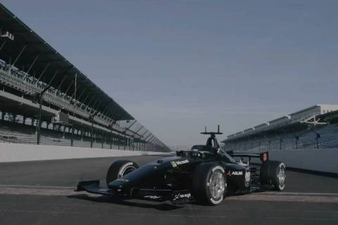 Autonomous race cars will hit the Indianapolis Motor Speedway later this year, and their design ...