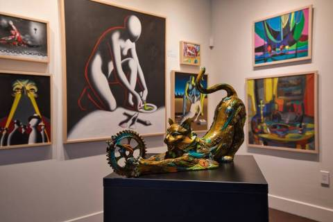 The new Park West Fine Art Museum & Gallery in Las Vegas will be hosting the museum exhibition ...