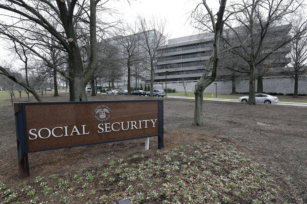 The Social Security Administration's main campus in Woodlawn, Md. (AP Photo/Patrick Semansky, File)