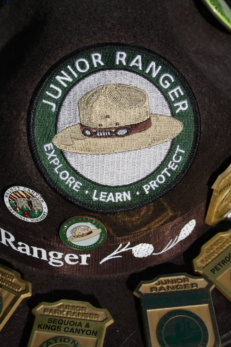 Most national parks and recreation areas offer a Junior Ranger Program. (Deborah Wall Las Vegas ...