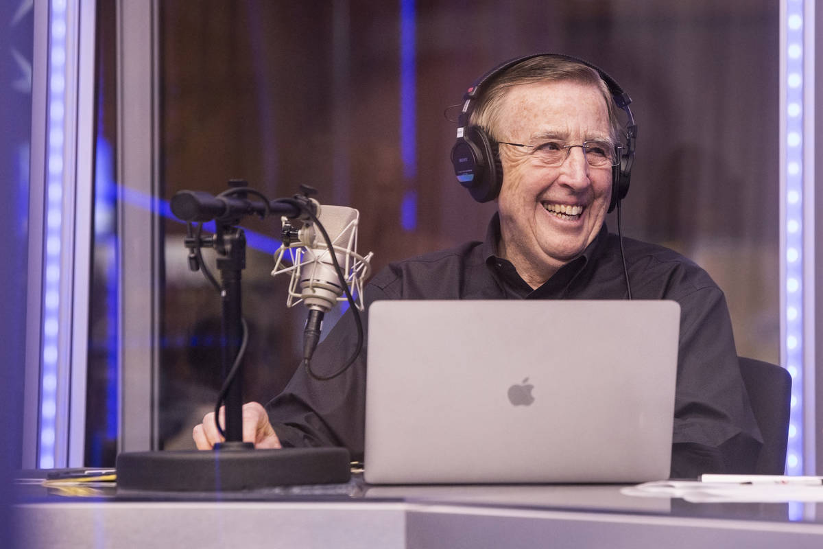 Brent Musburger is shown on Sunday, March 12, 2017, at the South Point hotel-casino in Las Vega ...