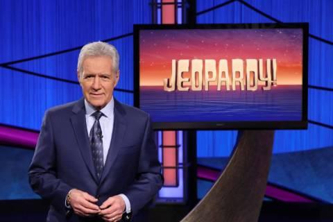 """Alex Trebek, host of the game show """"Jeopardy!"""" (Jeopardy! via AP)"""