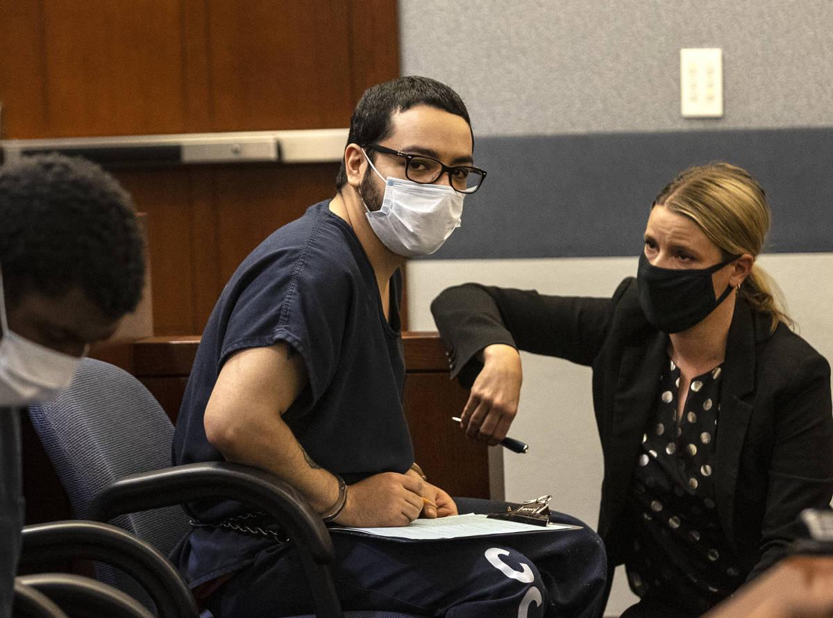 Matthew Ayala, who is accused of fatally shooting his grandmother, Yolanda Ayala, and burying h ...