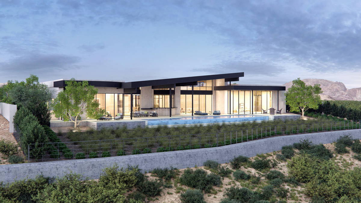 Las Vegas-based Sun West Custom Homes sold its 2019 and 2020 New American homes in Ascaya for $ ...