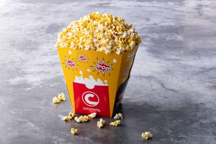 The salty concession is in the spotlight during Cinemark's Popcorn Fest. (Cinemark)