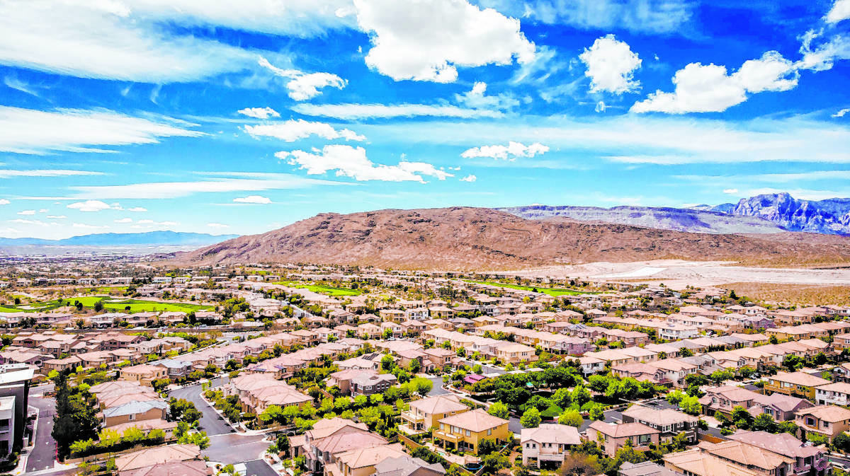 Summerlin ranked No. 3 in 2020 U.S. master-planned community sales, according to the recent lis ...
