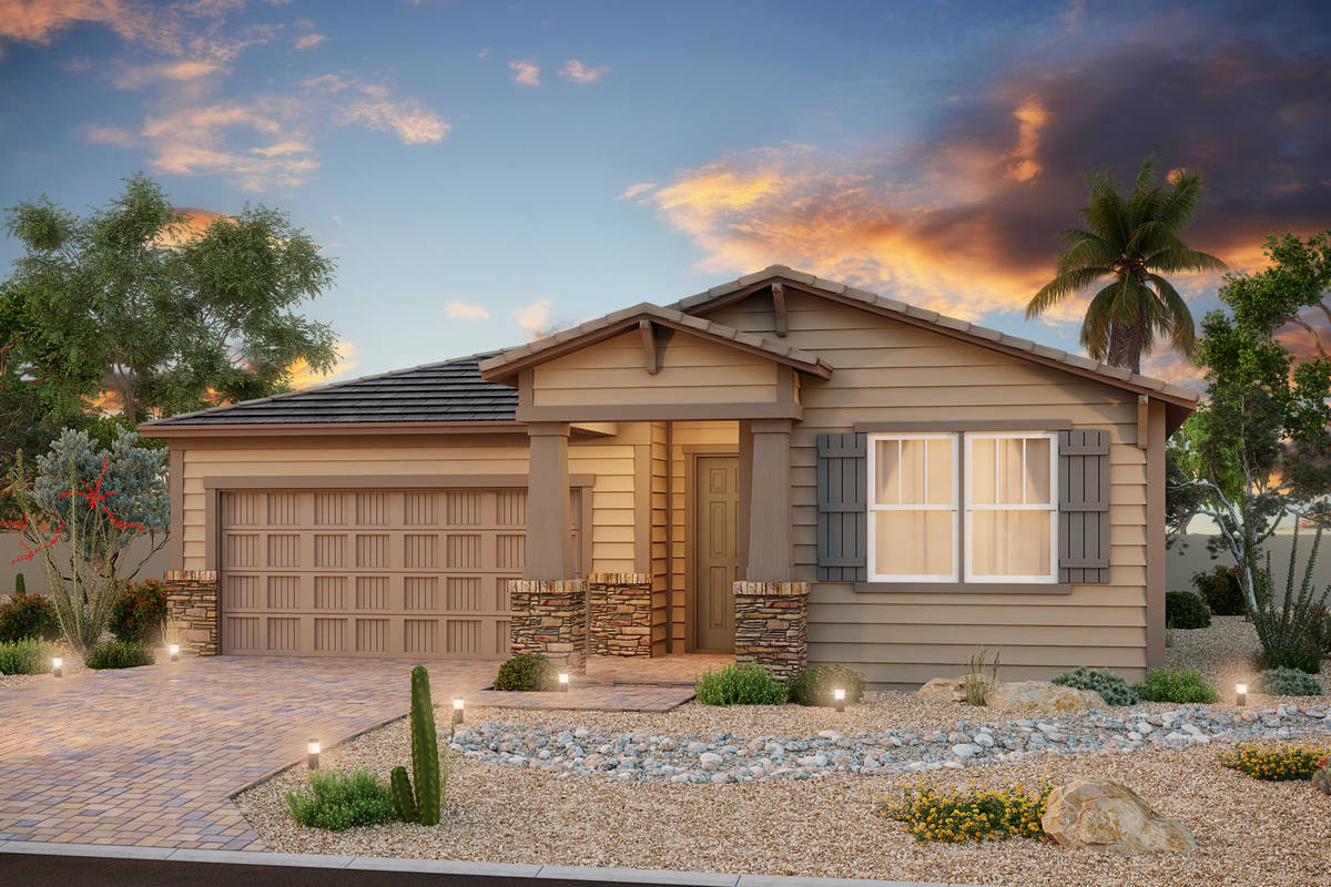 Beazer Homes Meadowbrook, Beazer Homes' new North Las Vegas neighborhood, will open this weeken ...