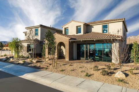 Crystal Canyon by Woodside Homes is one of five new neighborhoods that recently opened in Summe ...