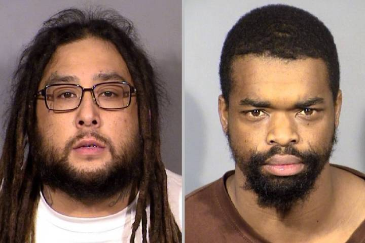 Antonio Ricardo Cruz, left, and Melvin McHenry. (LVMPD)