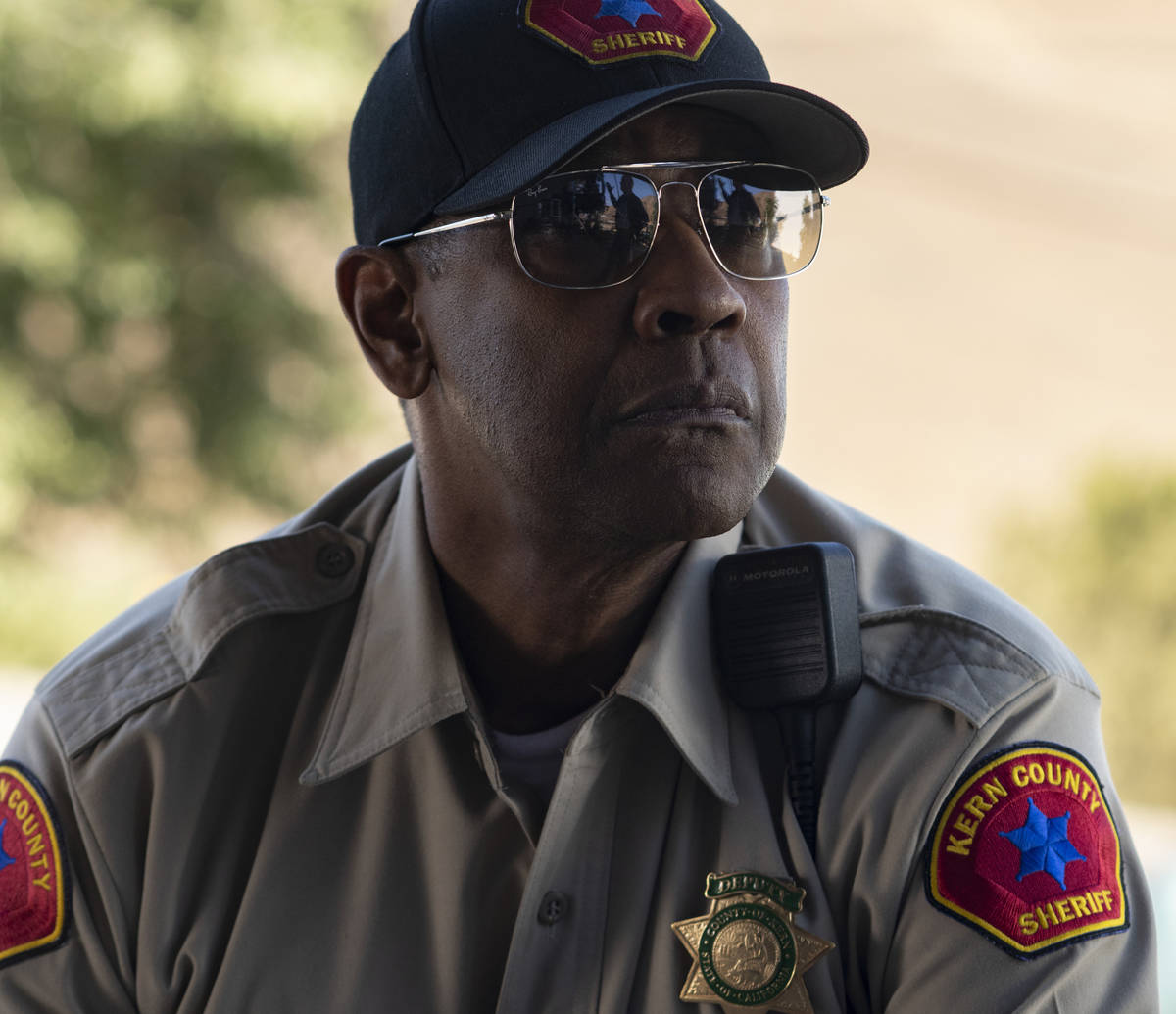 Denzel Washington gained 35 pounds for his role as a policeman chasing a possible serial killer ...