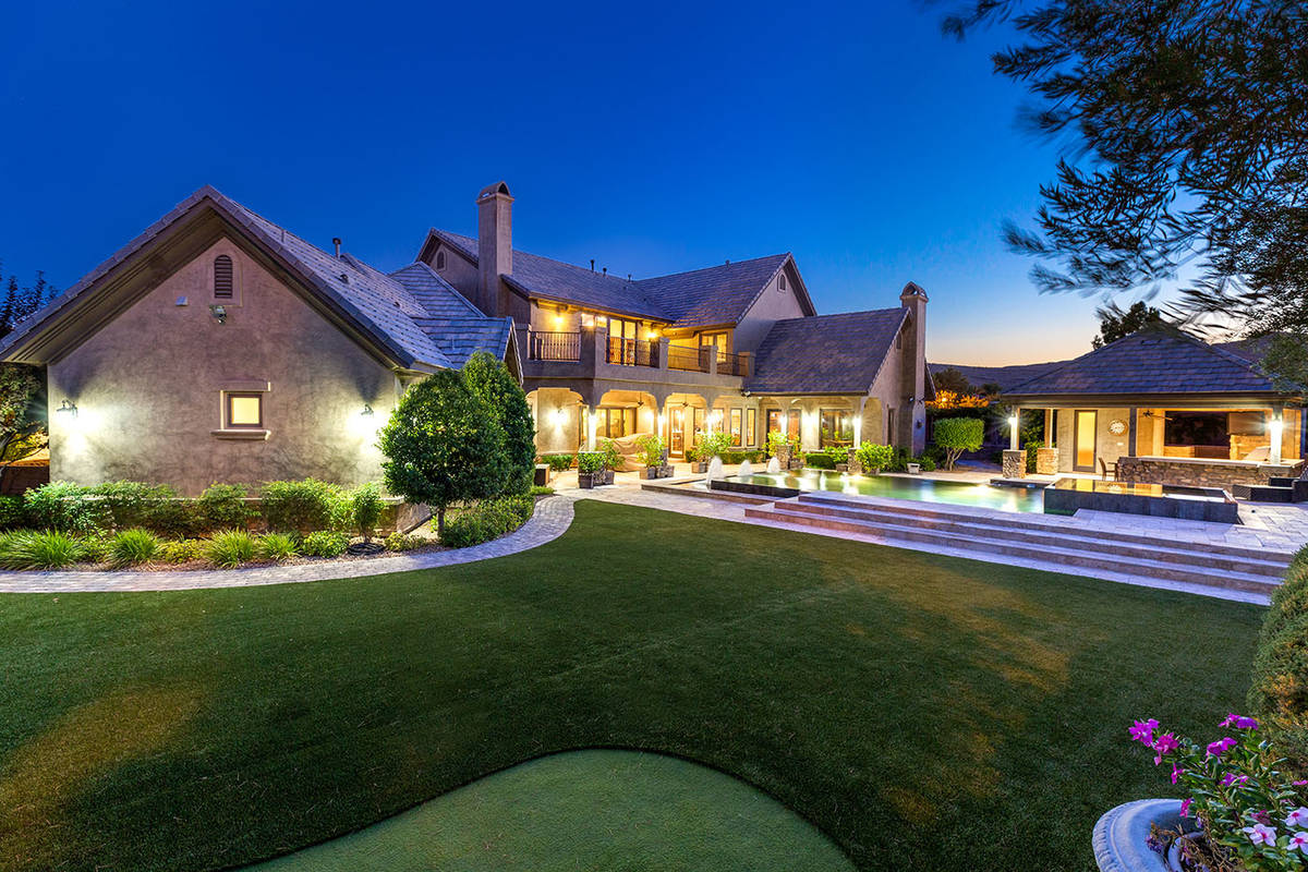 The home sits on 0.62 acres. (Ivan Sher Group)