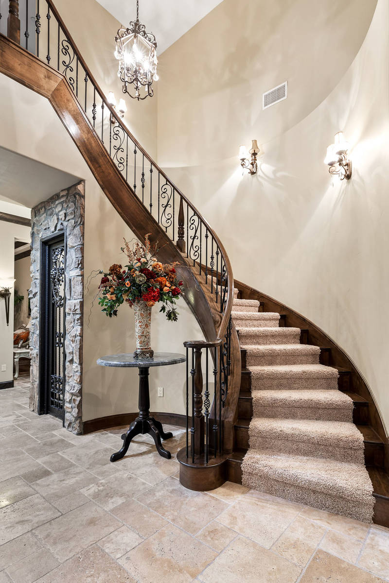 The stairs connects the two stories. (Ivan Sher Group)