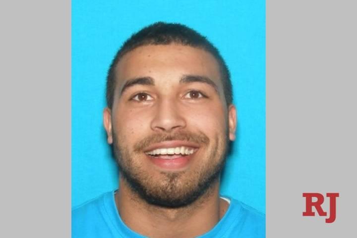 Illinois fugitive Kyle Reddick, 27, was arrested in Las Vegas on Saturday. (Galesburg Police De ...