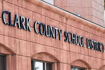 Clark County School District administration building (Las Vegas Review-Journal, File)