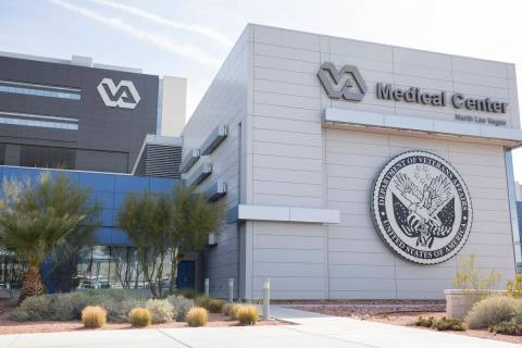 The VA Southern Nevada Healthcare System Medical Center in North Las Vegas. (Elizabeth Page Bru ...