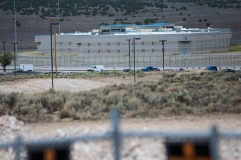 Ely State Prison (Chase Stevens/Las Vegas Review-Journal) @csstevensphoto