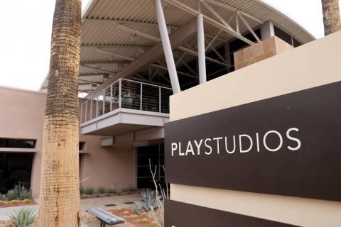 PlayStudio's Las Vegas office Monday, Feb. 1, 2021. (K.M. Cannon/Las Vegas Review-Journal) @KMC ...