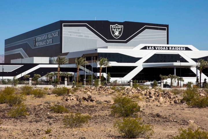 In a filing to Henderson officials the Raiders requested the prefabricated structure located in ...
