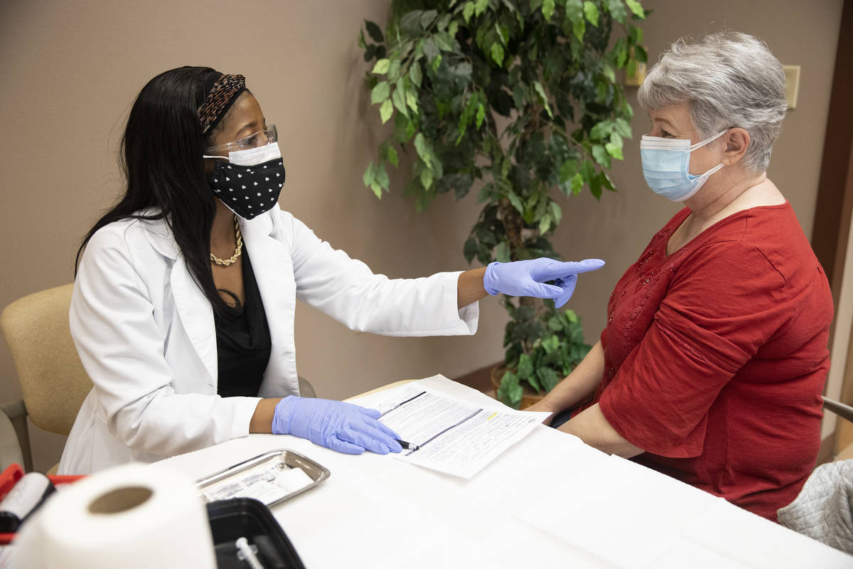 Dr. Christina Madison, associate professor of pharmacy practice with Roseman University of Heal ...
