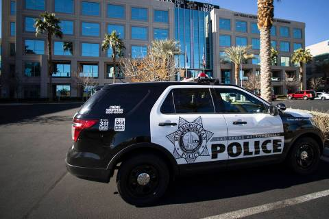 Metropolitan Police Department (Bizuayehu Tesfaye/Las Vegas Review-Journal) @bizutesfaye