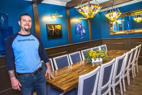 Chef Dan Krohmer, shown here in the private dining room at Other Mama, is returning to the rest ...