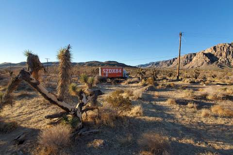 Little Caesars sign near the old Bonnie Springs. (Little Caesars)