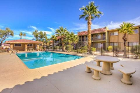 Next Wave Investors acquired the 216-unit Spanish Oaks apartment complex in Las Vegas, seen her ...
