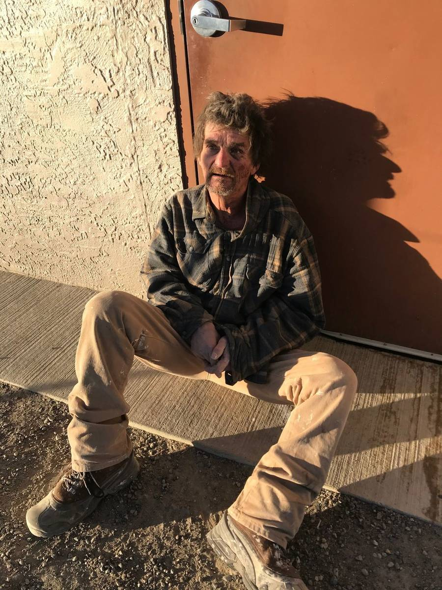 James Conley was captured by Nye County authorities in an arson. (Nye County Sheriff's Office)
