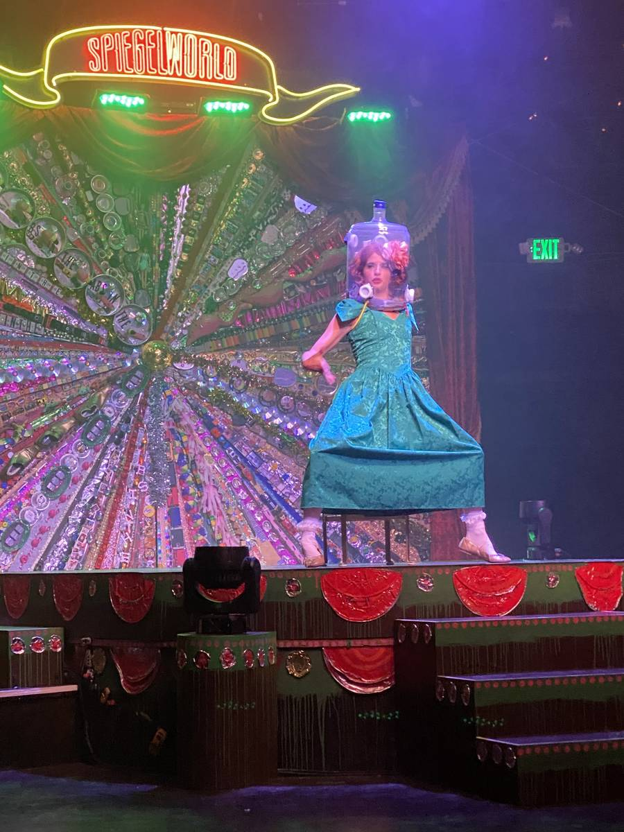 "Penny Pibbets is shown in the return of ""Absinthe"" at Caesars Palace on Wednesday, Oct. 28,2020 ..."