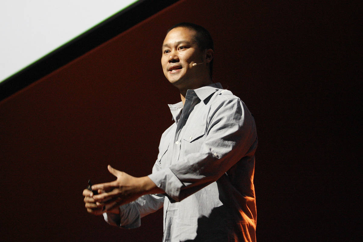 Tony Hsieh (Las Vegas Review-Journal/File)