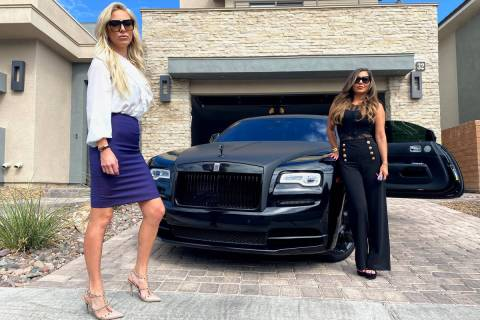 """Alese Morrow and Michele Sullivan are Las Vegas Realtors starring in the new TV reality show, """" ..."""