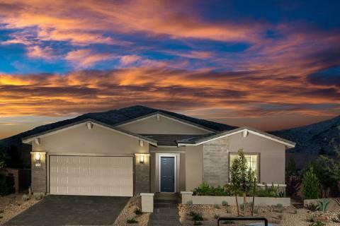 Woodside Homes offers the Varenna floor plan at Lake Las Vegas. (Woodside Homes)