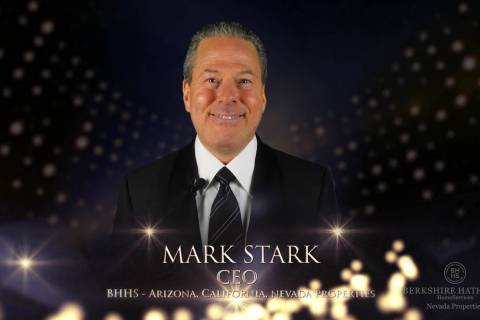 BHHS Nevada Properties Mark Stark, CEO of Americana Holdings, a Berkshire Hathaway HomeService ...