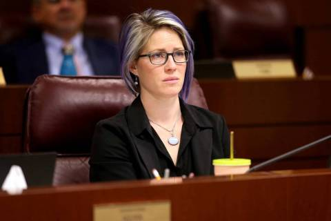 Assemblywoman Sarah Peters, D-Reno. (Las Vegas Review-Journal)