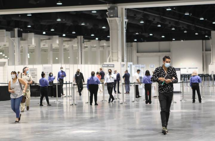 At this week's Las Vegas Market, building access points will be controlled to manage the flow o ...