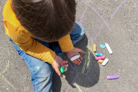 Skye Canyon will host its second annual, socially distant community event, Chalk For Earth on A ...