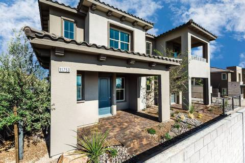 Moro Rock by Richmond American Homes is one of several neighborhoods in Summerlin offering home ...