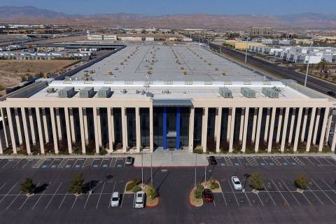 Freeman Las Vegas, headquarters for convention-services firm, at 6555 W. Sunset Road, is photog ...